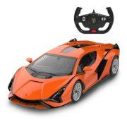 Rastar Távirányítós autó 1:14-es méretaránnyal - Lamborghini Sian (narancssárga)