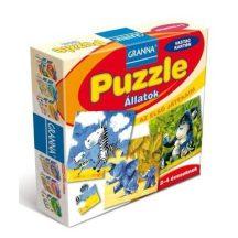 Granna 03071 - Állatok puzzle (24 db-os)