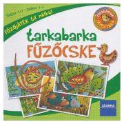 Granna 03252 Óvodások játéktára - Tarkabarka fűzőcske