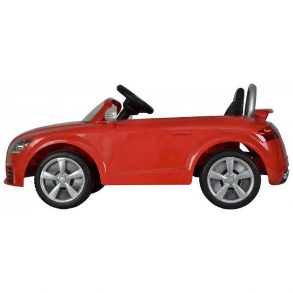 Elektromos beülős kisautó - Audi TT RS Plus (piros)