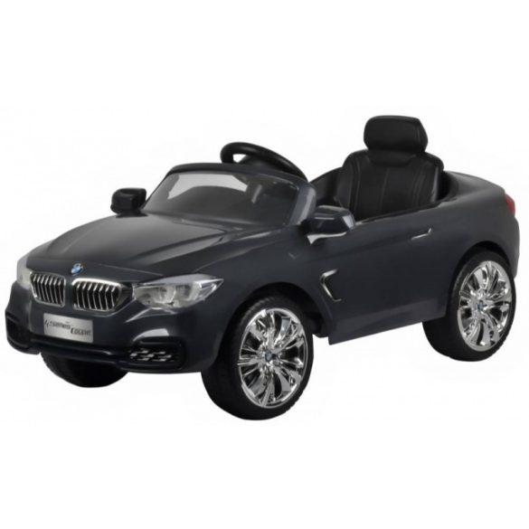 Elektromos beülős kisautó - BMW 4 Coupe (szürke)