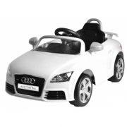 Elektromos beülős kisautó - Audi TT RS Plus (fehér)