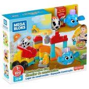 Mega Bloks Peek A Blocks - Kukucskockák építkezés
