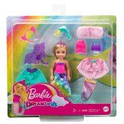 Barbie Dreamtopia - Chelsea baba kiegészítőkkel öltöztetős játékszett