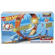 Hot Wheels Óriás hurok versenypálya kisautóval