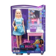 Barbie Big City, Big Dreams - Tükrös sminkasztal Malibu babával