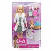 Barbie Deluxe Karrierbabák - Gyerekorvos baba játékszett