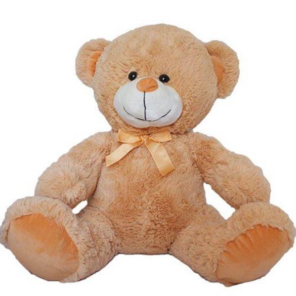 Tony maci - barna színű mackó plüss figura (66 cm)