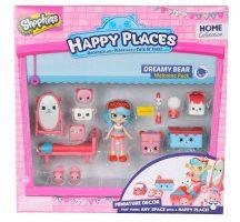 Shopkins Happy Places Köszöntő szett - DREAMY BEAR