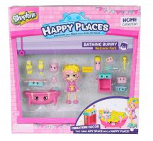 Shopkins Happy Places Köszöntő szett - BATHING BUNNY