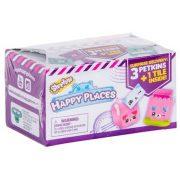 Shopkins Happy Places S2 meglepetés figurák - 3 db-os szett