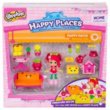 Shopkins: Happy Places köszöntő szett - PUPPY PATIO