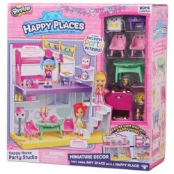 Shopkins Happy places - Édes otthon party szett