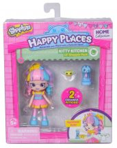 Shopkins Happy Places 1 db-os játékszett - KITTY KITCHEN