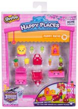 Shopkins Happy Places S2: Dekoráló szett - PUPPY PATIO