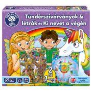 Orchard Toys Tündérszivárványok és Létrák + Ki nevet a végén társasjáték