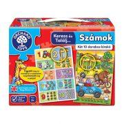 Orchard Toys Keress és találj... Számok puzzle (2 x 10 db-os)