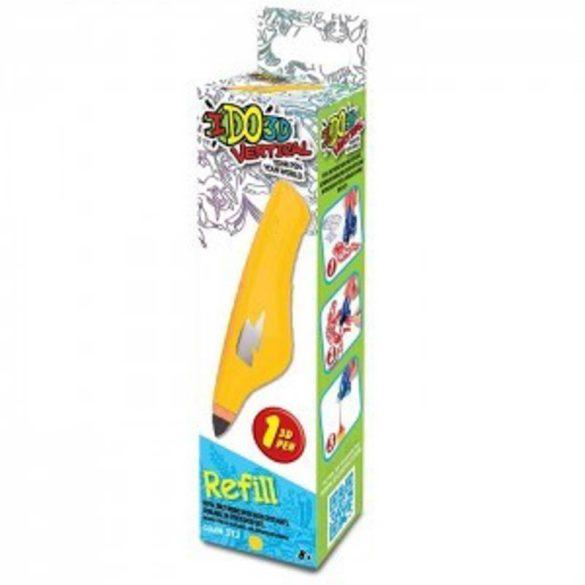 I DO 3D Vertical utántöltő toll - SÁRGA