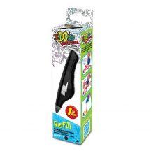 I DO 3D Vertical utántöltő toll - FEKETE