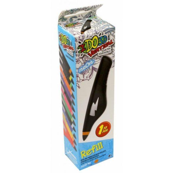 I DO 3D Vertical utántöltő toll - NEON NARANCS