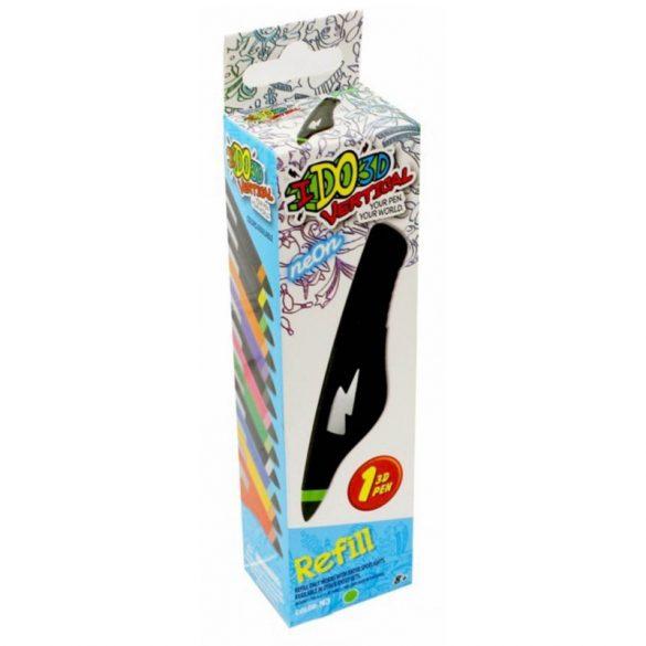 I DO 3D Vertical utántöltő toll - NEON ZÖLD