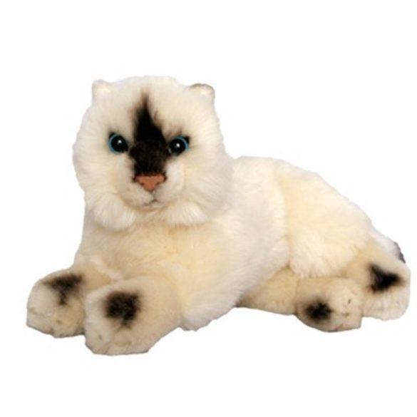 Fekvő sziámi cica 25 cm