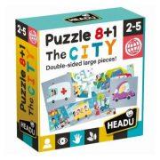 Headu 8+1 kétoldali puzzle - Városka
