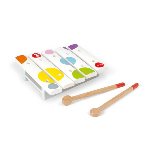 Janod Confetti J07603 Mini xylofon