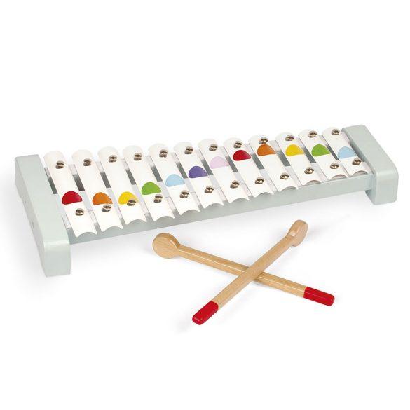 Janod Confetti J07604 Fém xylofon