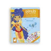 Janod 07835 Papír öltöztető játék - Hableányok