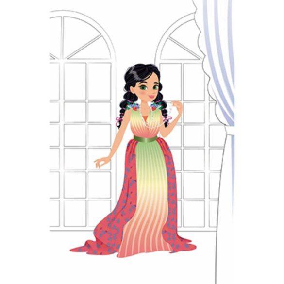 Janod J07837 Papír öltöztető játék - So Pretty