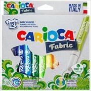 Carioca Cromatex textil filctoll 12 db-os