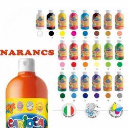 CARIOCA Tempera - Narancssárga 0,5 l
