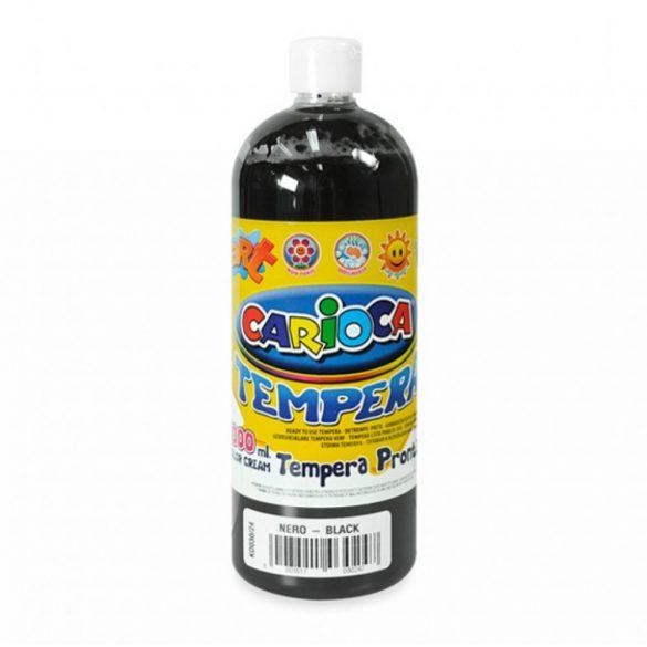 CARIOCA Tempera - Fekete 1 l