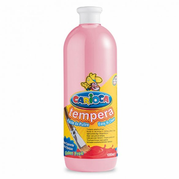 CARIOCA Tempera - Rózsaszín 1 l