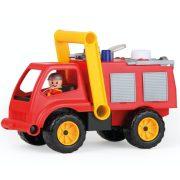 Lena Active Tűzoltóautó vízpumpával és figurával (31 cm)