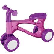 Lábbal hajtós pink kismotor piciknek (48 cm)