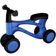 Lábbal hajtós kék kismotor piciknek (48 cm)