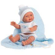 Llorens Bebito fiú baba pléddel (26 cm)