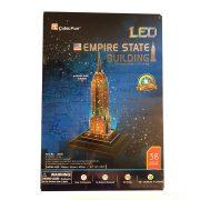 CubicFun 3D puzzle - Világító Empire State Building (38 db)