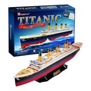 CubicFun L521 3D puzzle - Titanic exkluzív (218 db)