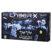 Laser-X lézerfegyver 2 db-os szett