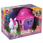 Lumiluvs Csillagfény házikó - unikornis figurával - Luna (pink)