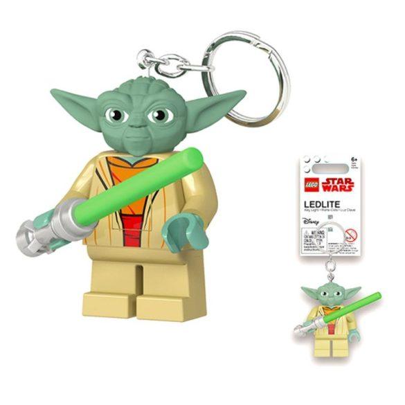 LEGO Star Wars - Yoda világítós kulcstartó