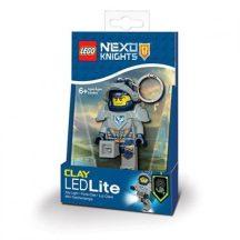 LEGO Nexo Knight Clay világítós kulcstartó