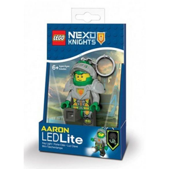 LEGO Nexo Knight Aaron kulcstartó