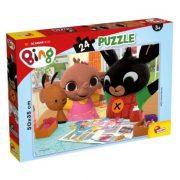 Lisciani Bing nyuszi puzzle - Szórakozzunk együtt! (24 db)