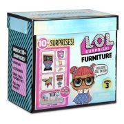 LOL Surprise Furniture S3 játékszett bútorral és babával - Tanterem