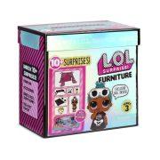 LOL Surprise Furniture S3 játékszett bútorral és babával - Ottalvós buli