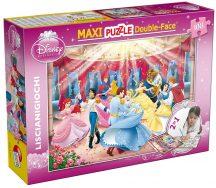 Lisciani Double-Face Maxi puzzle - Disney Hercegnők (108 db-os) 37230